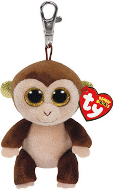 BEANIE BOOS CLIP ON AUDREY MONKEY