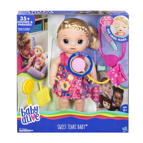 BABY ALIVE SWEET TEARS BABY - BLONDE