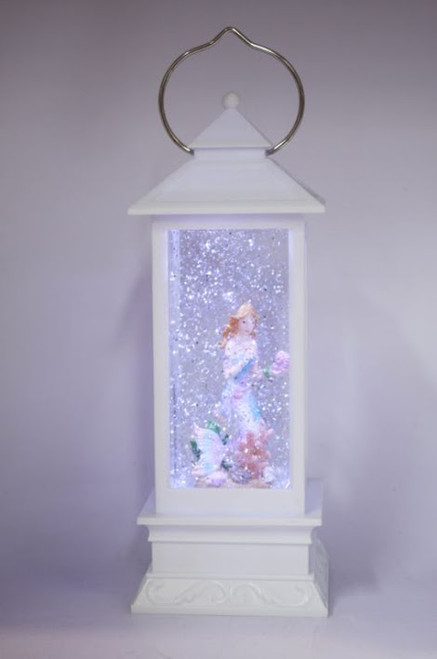 LANTERN - WHITE WITH MERMAID