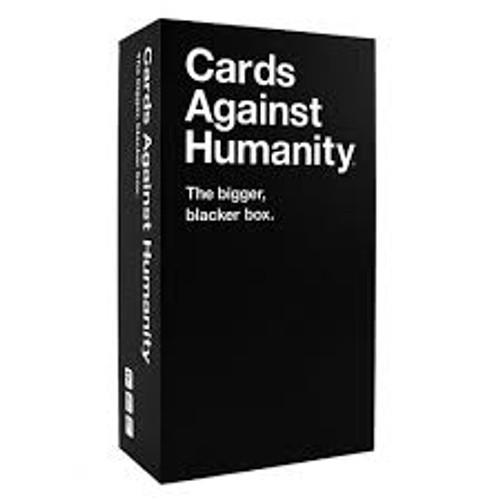 CARDS AGAINST HUMANITY (BIGGER) BIGGER BLACK BOX