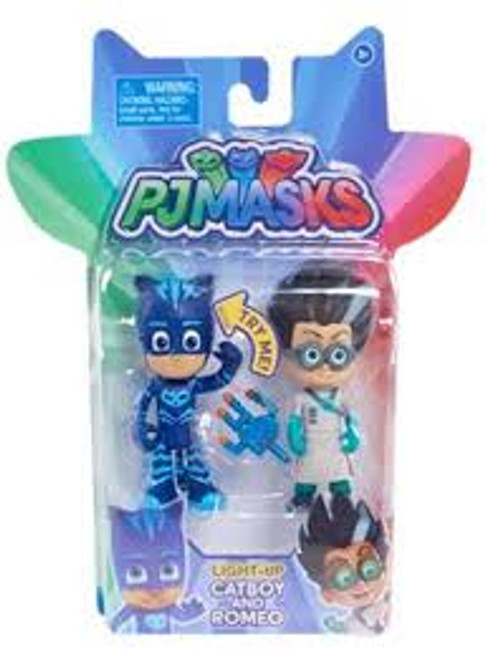 PJ MASKS LIGHT UP CATBOY & ROMEO