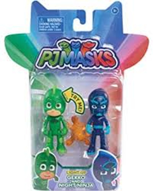 PJ MASKS LIGHT UP GEKKO & NIGHT NINJA