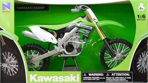 1:6 SCALE KAWASAKI KX450F DIRT BIKE