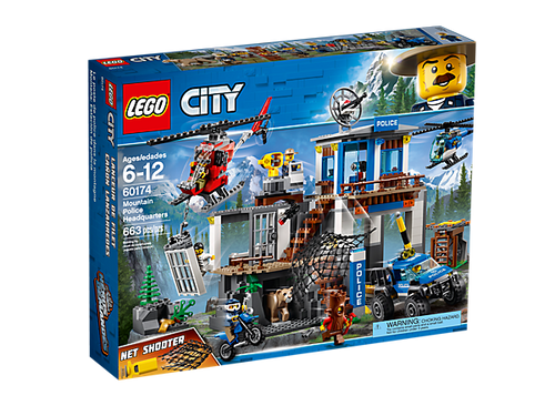 LEGO  CITY  - MOUNTAIN POLICE HEADQUATERS
