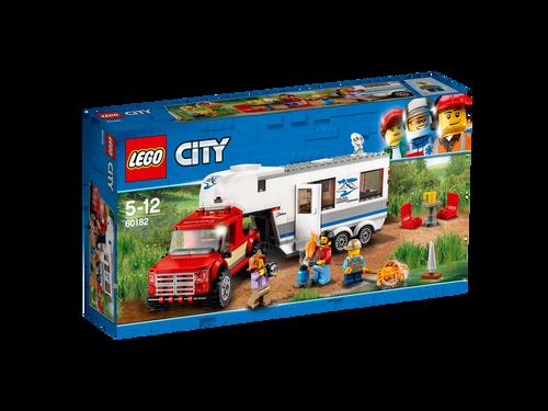 LEGO CITY - PICKUP & CARAVAN