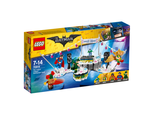 LEGO BATMAN MOVIE - THE JUSTICE LEAGUE ANNIVERSARY PARTY
