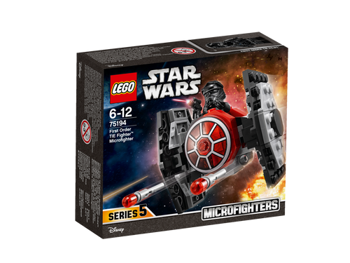 LEGO - FIRST ORDER TIE FIGHTER MICROFIGHTER