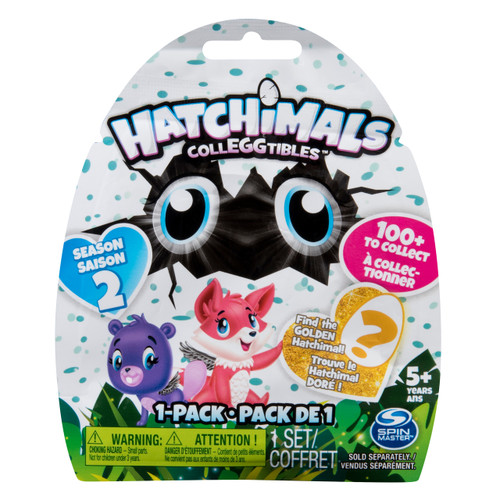 HATCHIMALS COLLEGGTIBLES SERIES 2 1PK (BLIND BAG)