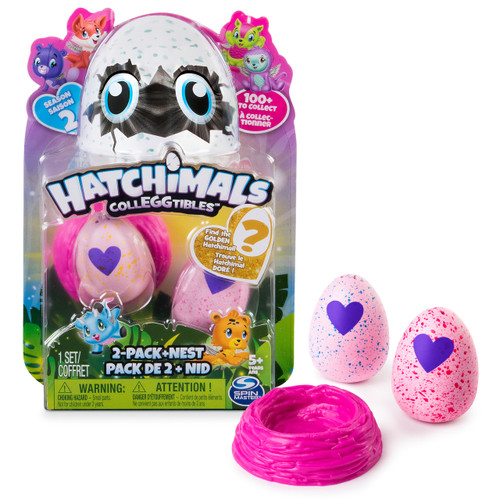HATCHIMALS COLLEGGTIBLES SERIES 2 - 2PK
