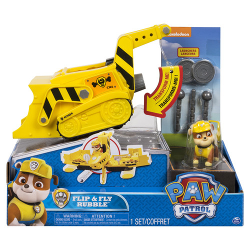 PAW PATROL FLIP & FLY - RUBBLE