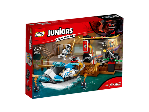 LEGO JUNIORS - ZANES NINJA BOAT PURSUIT