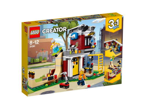 LEGO CREATOR- MODULAR SKATE HOUSE
