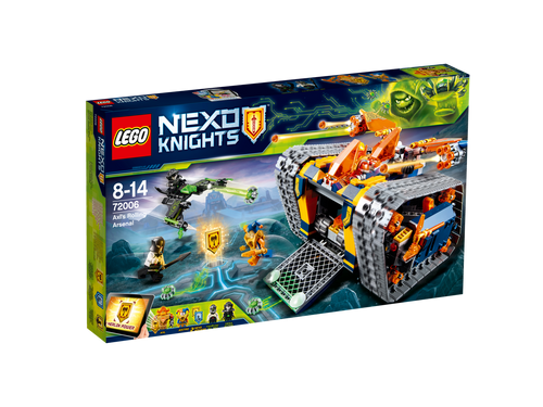 LEGO - AXLS ROLLING ARSENAL