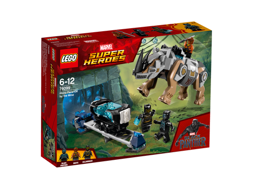 LEGO - BLACK PANTHER FACE OFF