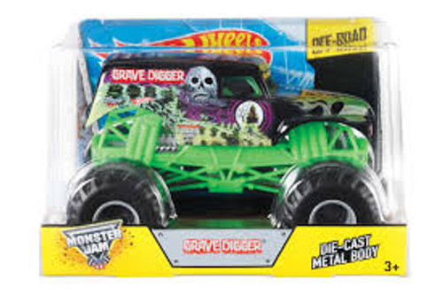 MONSTER JAM 1:24 SCALE GRAVE DIGGER