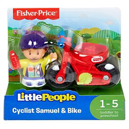 LP 2 PACK CYCLIST SAMUEL & BIKE