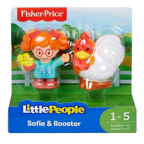 LP 2 PACK SOFIE & ROOSTER