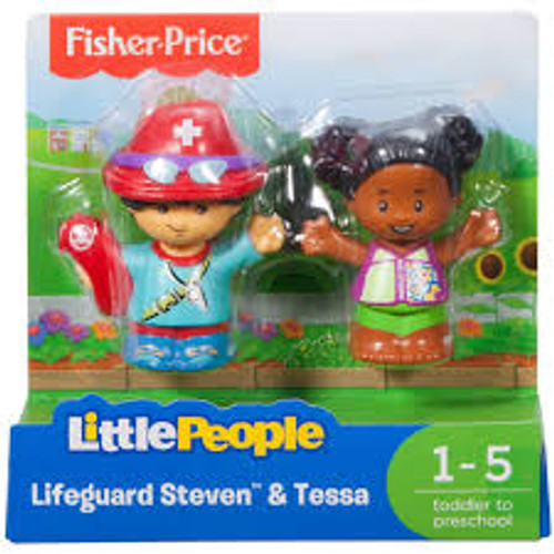 LP 2 PACK LIFEGUARD STEVEN & TESSA