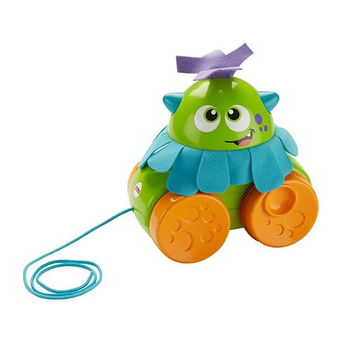 FISHER PRICE WALK AND WHIRL MONSTER