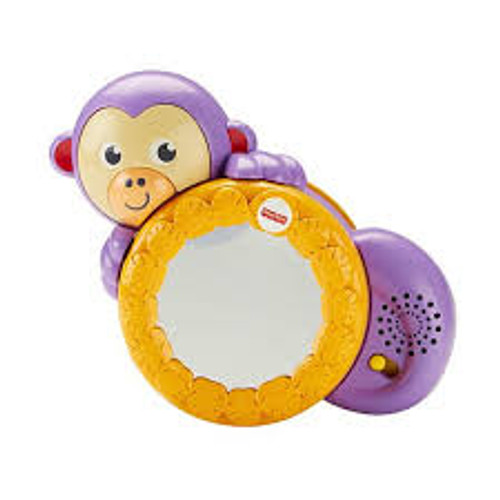 FISHER PRICE CRAWL ALONG MONKEY