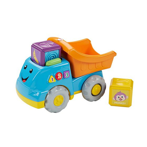 FISHER PRICE - FIRST WORDS FILL & DUMP TRUCK
