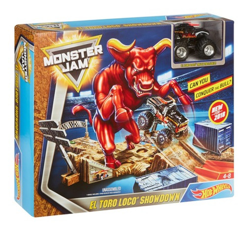 HOT WHEELS MONSTER JAM EL TORO LOCO SHOWDOWN