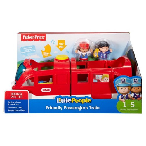 FISHER PRICE LARGE VEHICLE - FRIENDLY PASSENGERS TRAIN