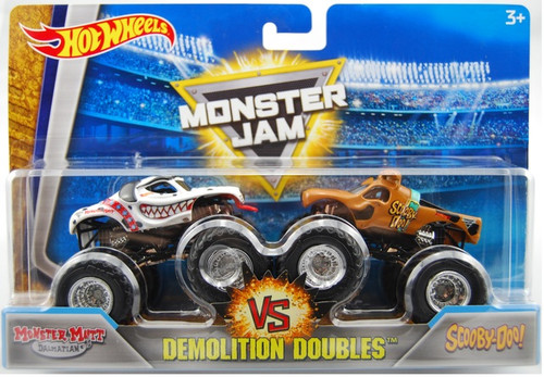 MJ DEMOLITION DOUBLES MONSTER MUTT DALMATION V SCOOBY-DOO