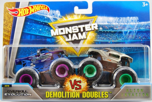 MJ DEMOLITION DOUBLES OVERKILL EVOLUTION V ALIEN INVASION