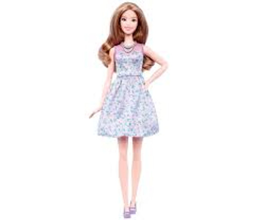 BARBIE FASHIONISTA #53 LOVELY LILAC