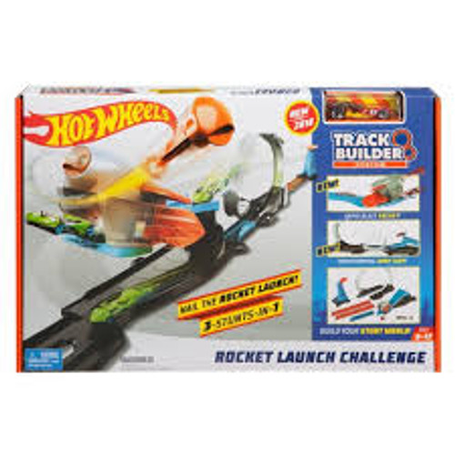 HOT WHEELS ROCKET LAUNCH CHALL