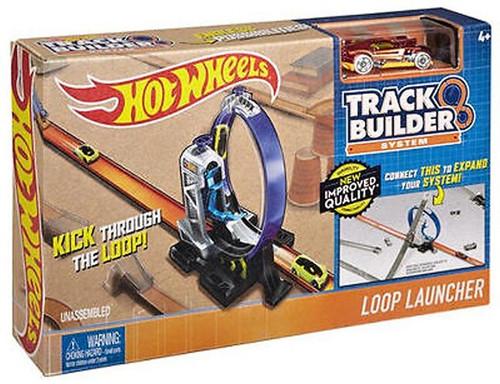 HOT WHEELS TRACK BUILDER - LOOP LAUNCHER