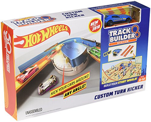 HOT WHEELS TRACK BUILDER - CUSTOM TURN KICKER