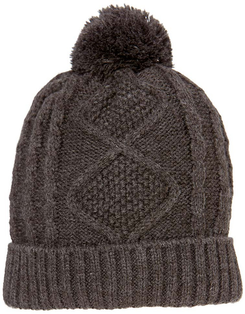 TOSHI BEANIE - BRUSSELS CHARCOAL LARGE