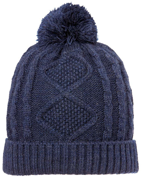 TOSHI BEANIE - BRUSSELS MIDNIGHT LARGE