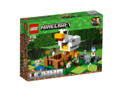 LEGO MINECRAFT - THE CHICKEN COOP