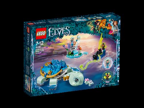 LEGO - NADIA & THE WATER TURTLE AMBUSH