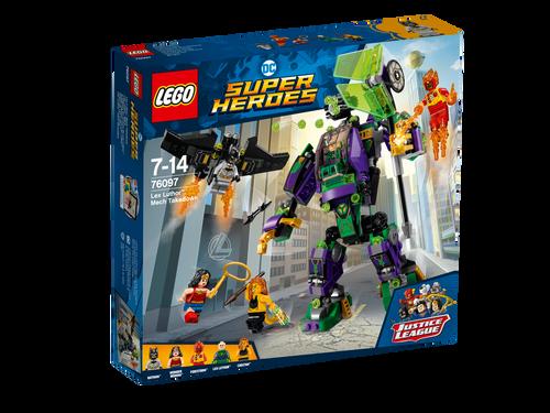 LEGO - LEX LUTHOR MECH TAKEDOW