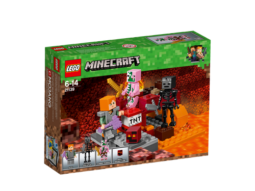 LEGO - THE NETHER FIGHT