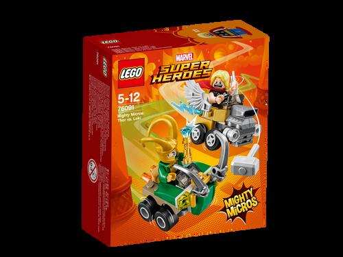 LEGO - MIGHTY MICROS : THOR VS LOKI