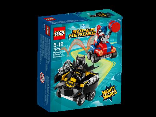 LEGO - MIGHTY MICROS : BATMAN VS HARLEY QUINN