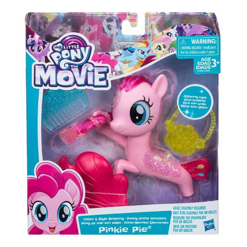 MLP MOVIE GLITTER SEAPONY - PINKY PIE