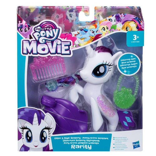 MLP MOVIE GLITTER SEAPONY - RARITY