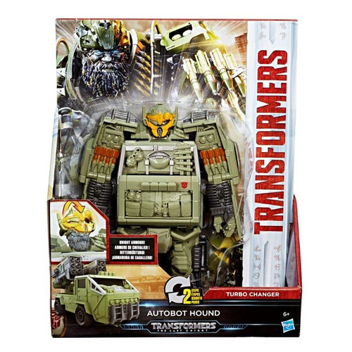 TRA MV5 KNIGHT ARMOR TURBO CHANGER - AUTOBOT HOUND