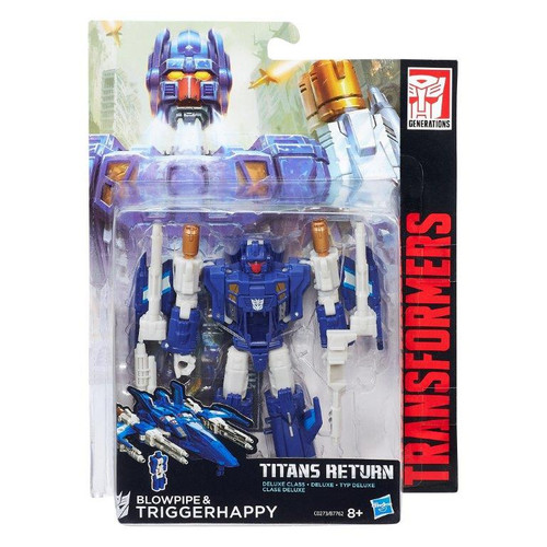 TRA GEN DLX TITANS RETURN - BLOWPIPE & TRIGGERHAPPY