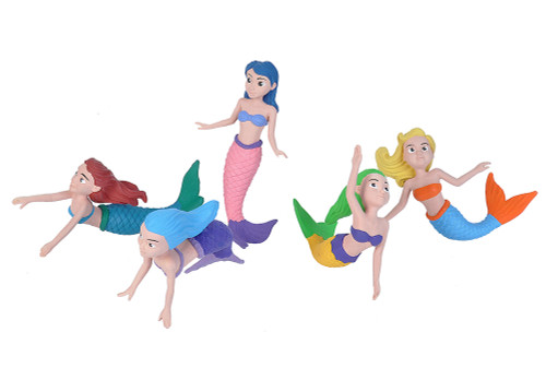 POLYBAG MERMAIDS 5PCE