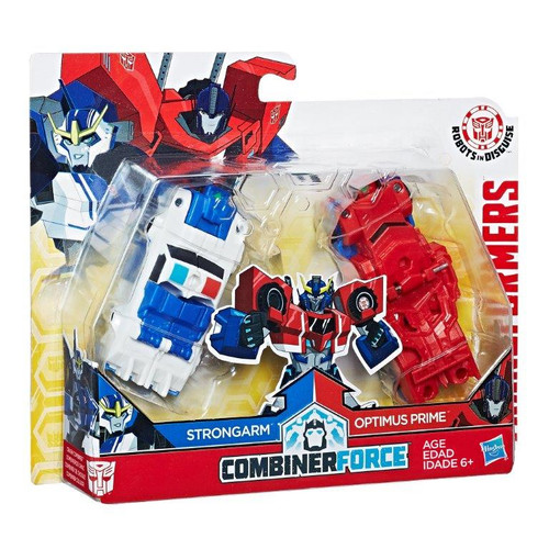 TRA RID COMBINE FORCE - STRONGARM/OPTIMUS PRIME