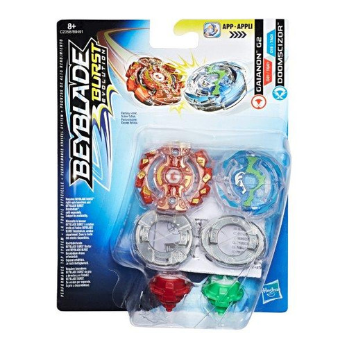 BEYBLADE DUAL PACK - GAIANON &
