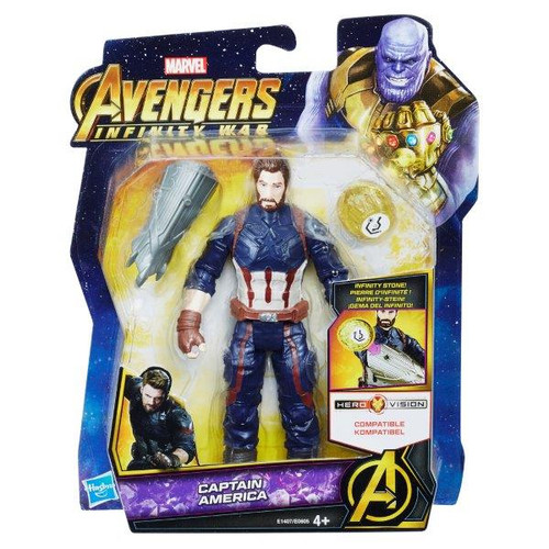 AVENGERS 6 INCH - CAPTAIN AMERICA WITH STONE
