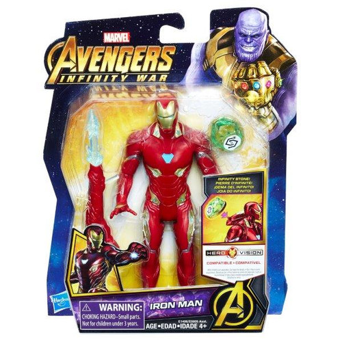 AVENGERS 6 INCH - IRON MAN WITH STONE